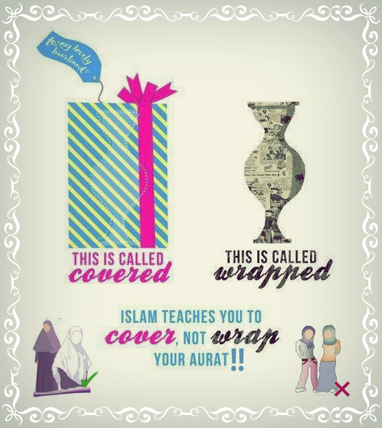 Cover Your Aurat!