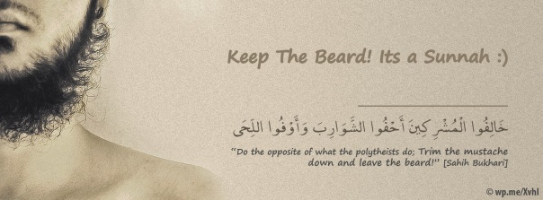 beard sunnah photo cover fecebook