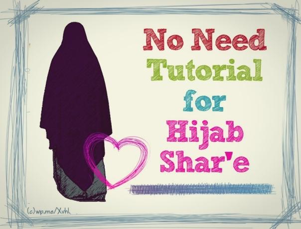 hijab tutorial syar'i islami