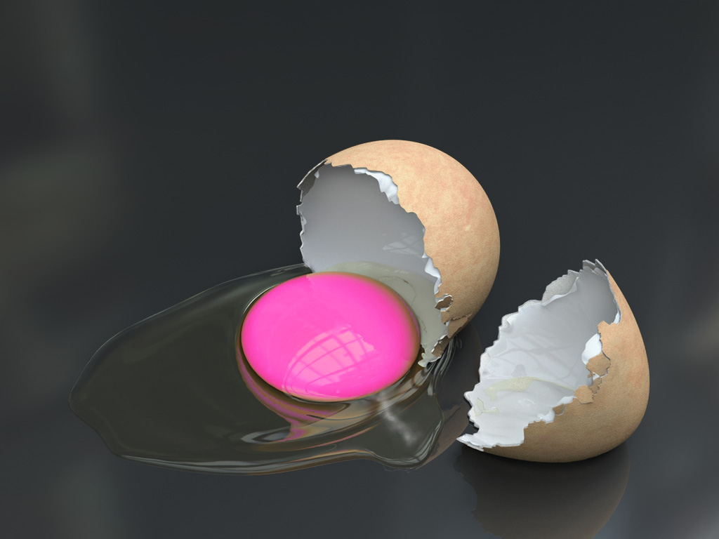 Growing and shrinking egg